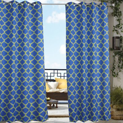 Outdoor Décor Arbor Single Curtain Panel Product Photo