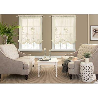 Hydrangea Adjustable Window Tie-Up Shade Product Photo