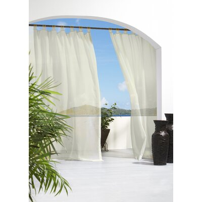 Outdoor Décor Escape Tab Top Curtain Single Panel Product Photo
