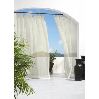 Outdoor Décor Escape Tab Top Curtain Single Panel Product Photo