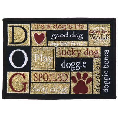 I Love Dogs Tapestry Indoor/Outdoor Area Rug by Park B Smith Ltd