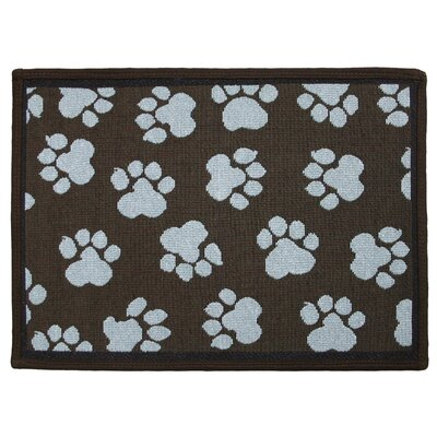 Park B Smith Ltd PB Paws & Co. Woodland / Sea Spray World Paws Tapestry Indoor/Outdoor Area Rug