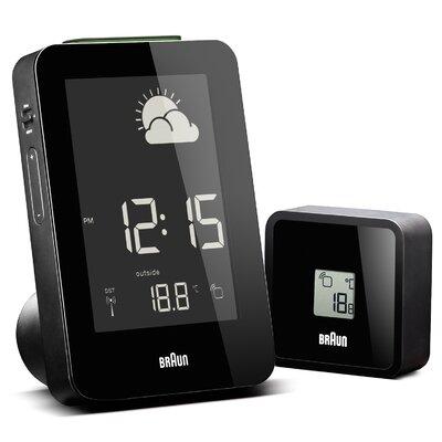 Digital Weather Station Alarm Clock by Braun