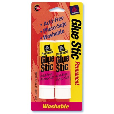 Avery Glue Stic (Pack of 2)