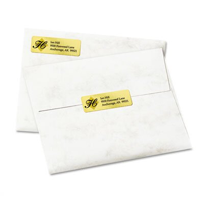 Avery Foil Mailing Labels, 3/4 X 2-1/4, 300/Pack