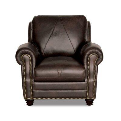 Solomon Italian Leather Chair by Luke Leather