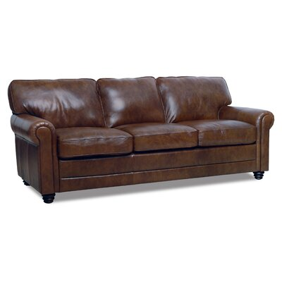 Andrew Leather Sofa by Luke Leather