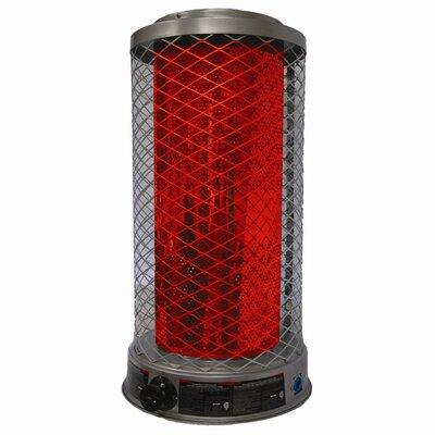 125,000 BTU Portable Propane Radiant Tower Heater by DuraHeat