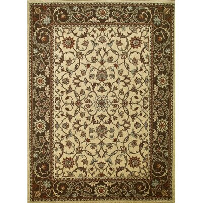 Concord Global Imports Arthur Flora Ivory Rug