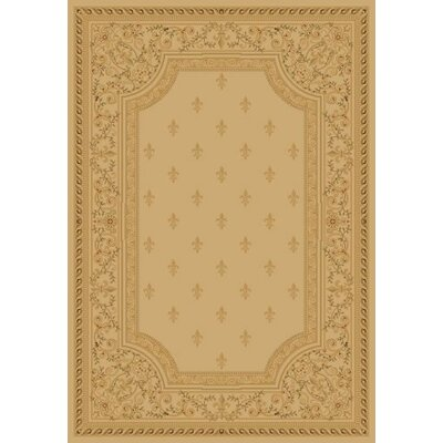 Concord Global Imports Imperial Charlemagne Ivory Fleur De Lys Area Rug