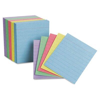 Esseltependaflex Oxford Ruled Mini Index Cards, 3 X 2 1/2, 200/Pack