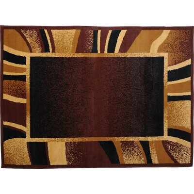 Ariana 3 Piece Brown Area Rug Set by Home Dynamix