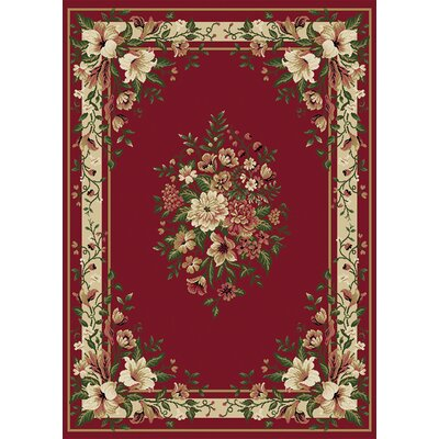 Home Dynamix Optimum Red Area Rug
