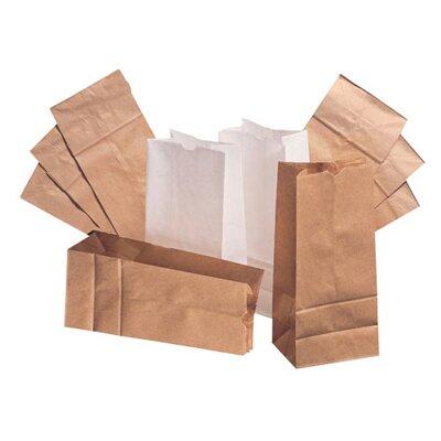 "General 8 6.13"" Kraft Paper Bag in Brown"