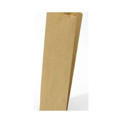 "General 3.75"" Kraft Paper Bag in Brown"