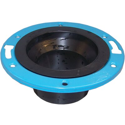"GenovaProducts 4"" Closet Flange with Metal Ring"