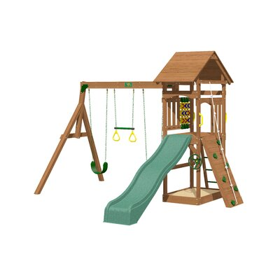 Riviera Wooden Swing Set Product Photo