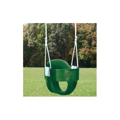 Creative Playthings Bucket Toddler Swing with Rope