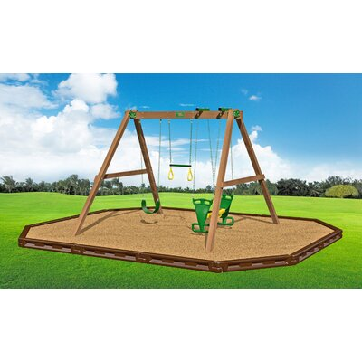 Classic Deluxe Swing Beam Swing Set Product Photo