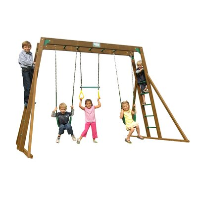 Classic Top Ladder Swing Set Product Photo