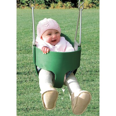 Creative Playthings Bucket Toddler Swing with Chain