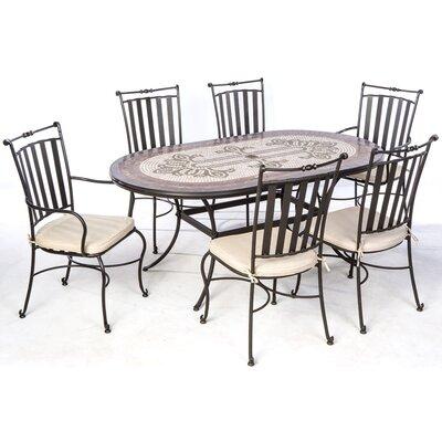 Orvieto 7 Piece Dining Set by Alfresco Home