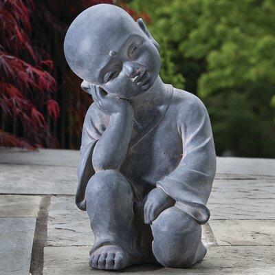 Thinking Buddha Statue by Alfresco Home