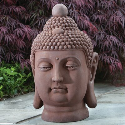 Buddha Bust Statue by Alfresco Home