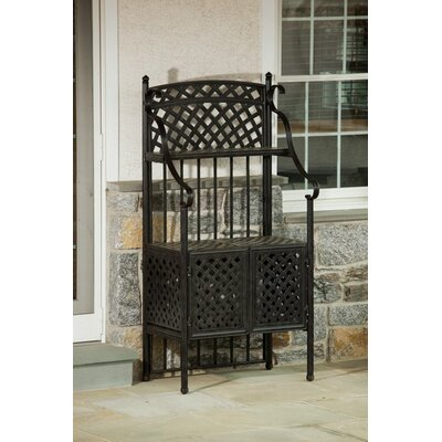 Weave Outdoor Bakers Rack by Alfresco Home
