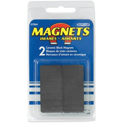 Master Magnetics Ceramic Disc Magnets (Pack of 2)