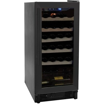 26 Bottle Dual Zone Built-In Wine Refrigerator by Haier