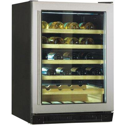 48 Bottle Dual Zone Built-In Wine Refrigerator by Haier