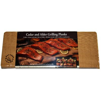 2 Count Grilling Planks Set by NaturesCuisine