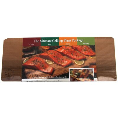 4 Count Grilling Planks Set by NaturesCuisine