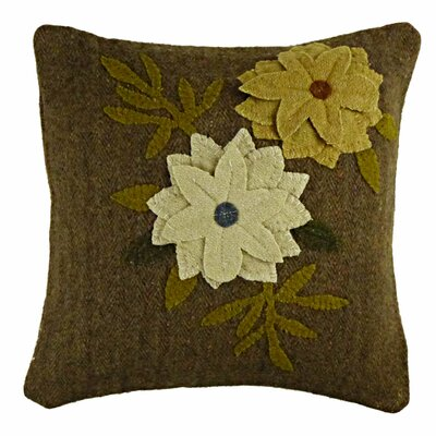 Primitive Daffodil Throw Pillow by Homespice Decor