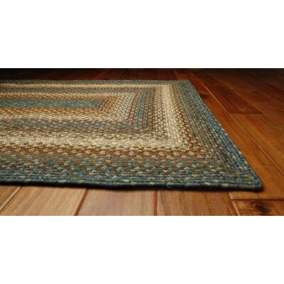 Homespice Decor Ultra-Durable Rosewood Racetrack Rug