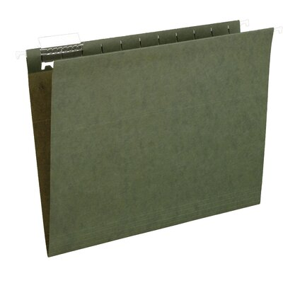 Pendaflex 25 Count File Pro Standard Hanging File Folder in Green