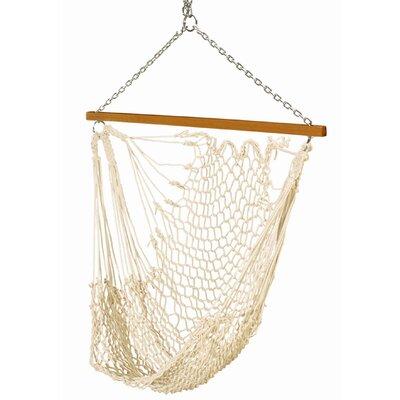 Pawleys Island Single Cotton Rope Swing