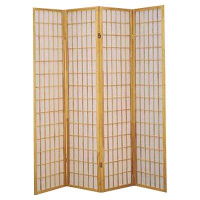 "Wildon Home ® 70"" x 69.5"" Shoji 4 Panel Room Divider"