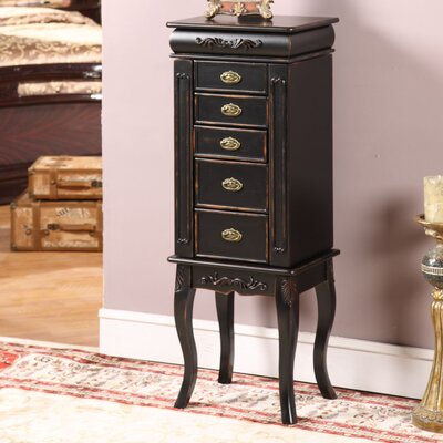 Wildon Home ® Morrel Jewelry Armoire with Mirror