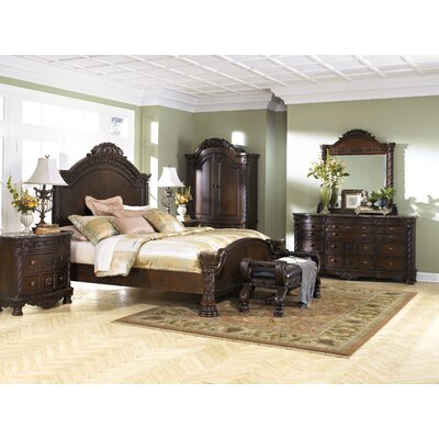 ashley north shore panel customizable bedroom set reviews wayfair