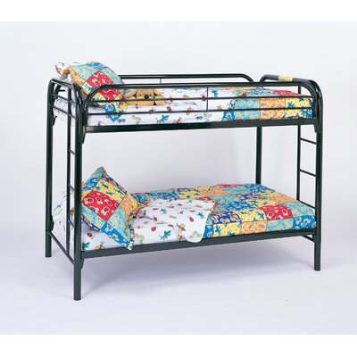Wildon Home ® Framington Twin Bunk Bed with Built-In Ladder