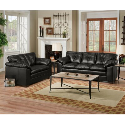 Wildon Home CST16551 Carley Sofa and Loveseat