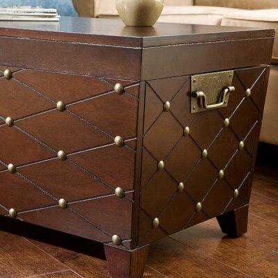... Home ® Boulstridge Nailhead Trunk Coffee Table & Reviews  Wayfair