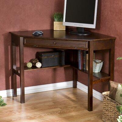 Wildon Home ® Meadow Corner Desk with Keyboard Tray