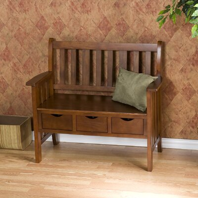 Davidson Storage Wood Entryway Bench by Wildon Home ®