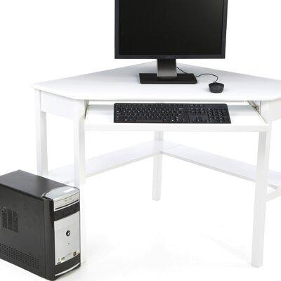 Wildon Home ® Liverpool Computer Corner Desk in White