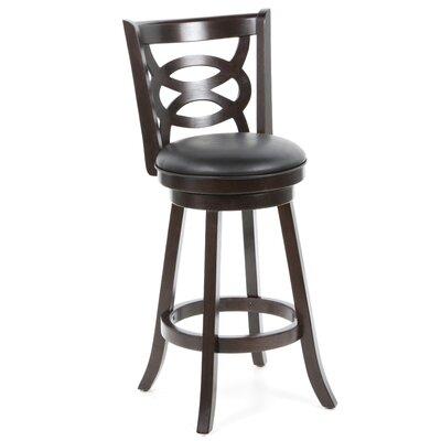 "Wildon Home ® Jackman 29"" Swivel Bar Stool with Cushion"