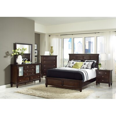 Wildon Home Storage Queen Panel Customizable Bedroom Set Reviews Wayfair