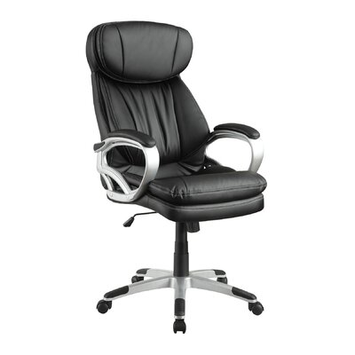 High-Back Executive Managerial Chair with Arms by Wildon Home ®